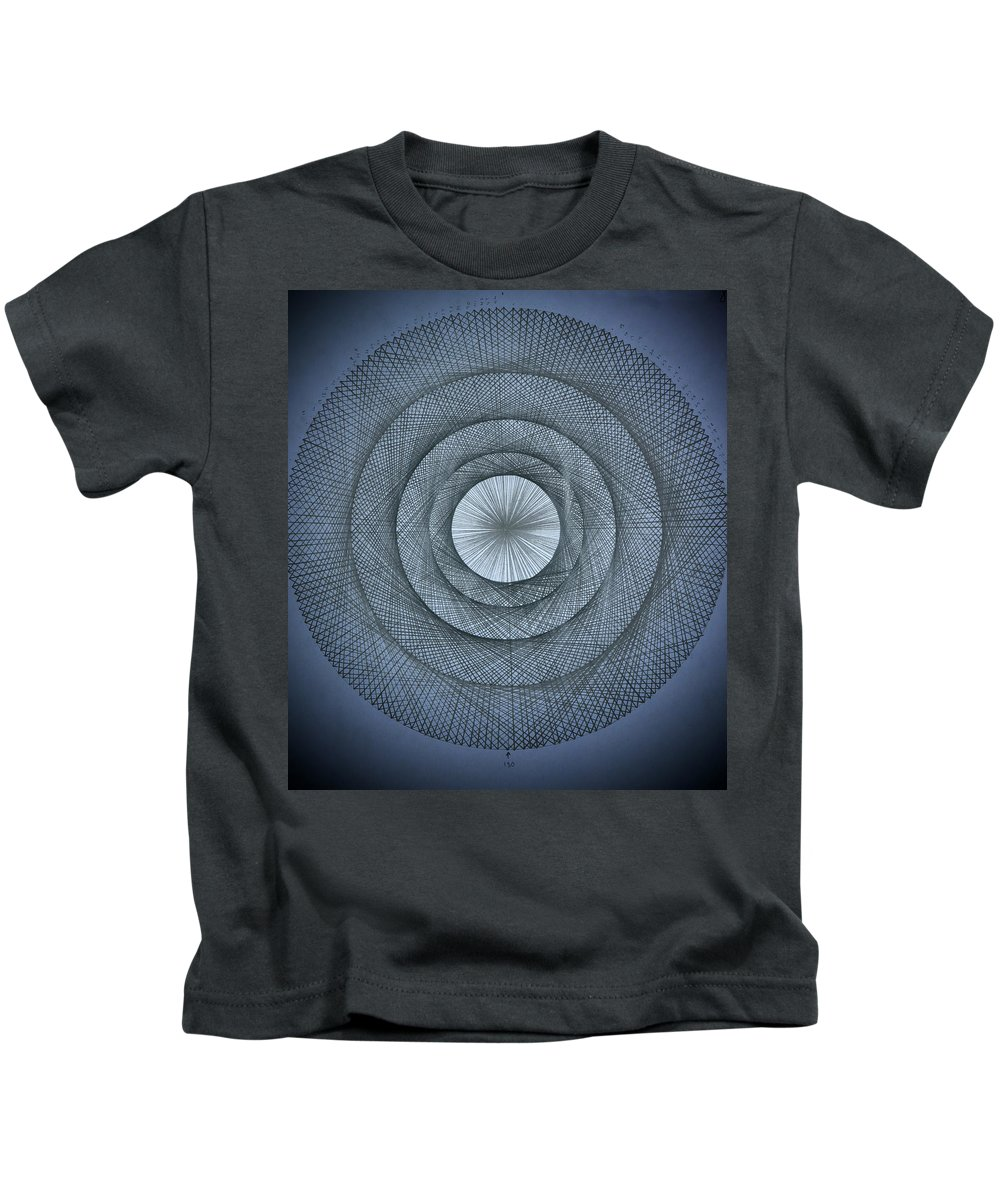 Pi Kids T-Shirt featuring the drawing The Power Of Pi by Jason Padgett