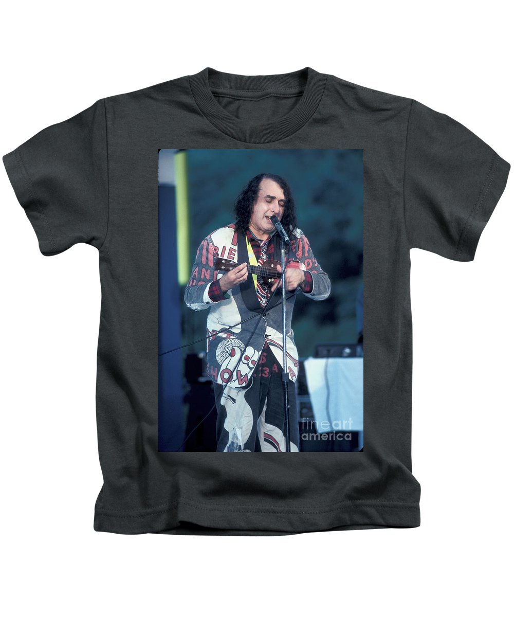 Outfit Kids T-Shirt featuring the photograph Tiny Tim by Concert Photos