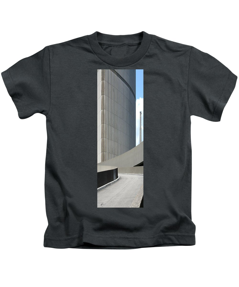 Abstract Architecture Kids T-Shirt featuring the photograph Toronto Silhouettes II by Ben and Raisa Gertsberg
