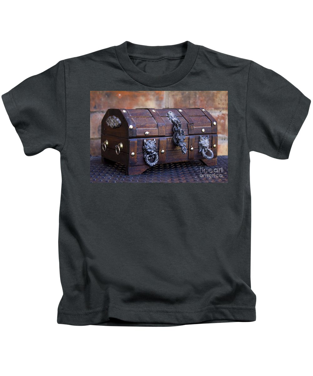 Treasure Kids T-Shirt featuring the photograph Treasure Chest by Alycia Christine