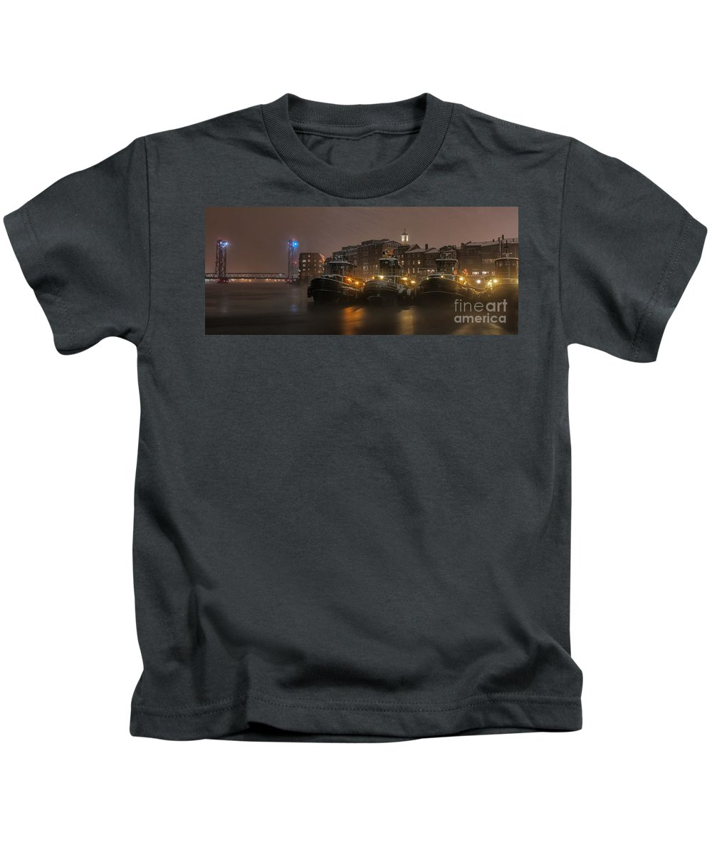 Portsmouth New Hampshire Kids T-Shirts