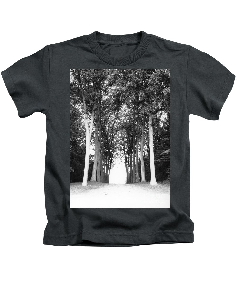 Trees Kids T-Shirt featuring the photograph Tunnel Of Trees by Christine Jepsen