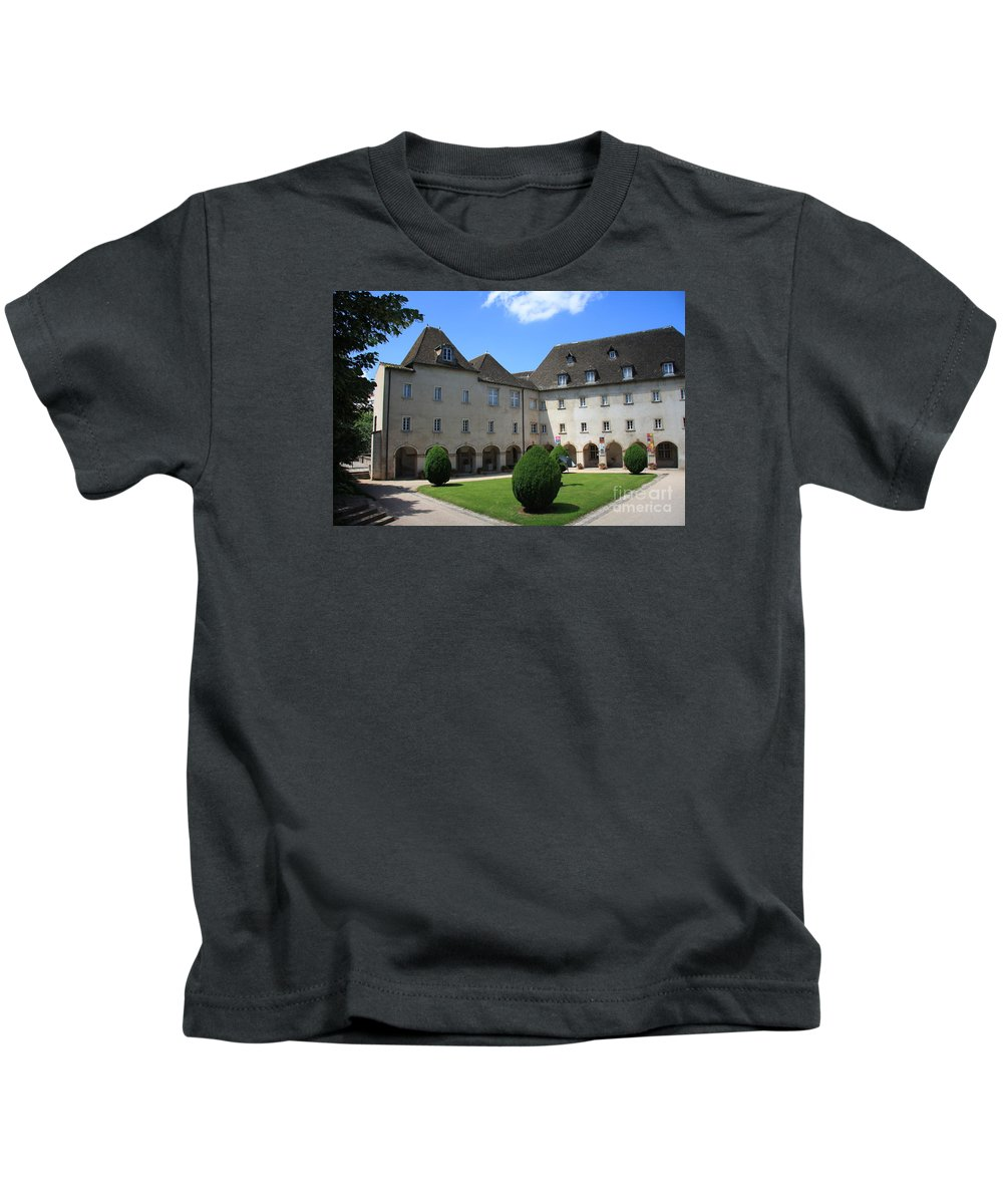 Convent Kids T-Shirt featuring the photograph Ursulinen Convent - Macon by Christiane Schulze Art And Photography