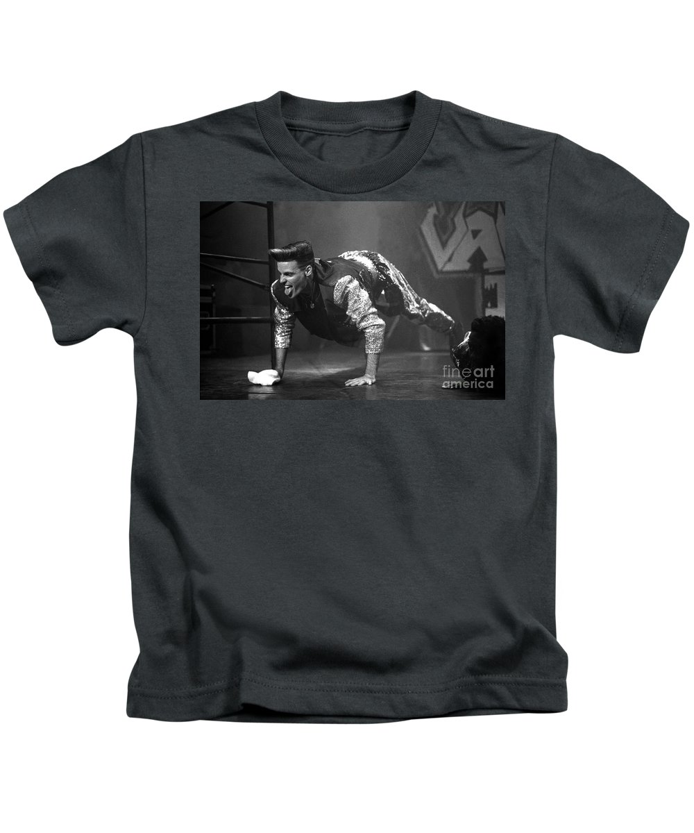 Rap Kids T-Shirt featuring the photograph Vanilla Ice by Concert Photos