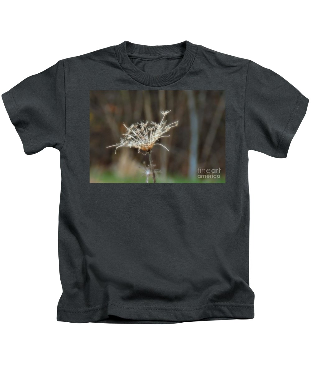 Floral Kids T-Shirt featuring the photograph Waiting To Fly by Marcia Lee Jones