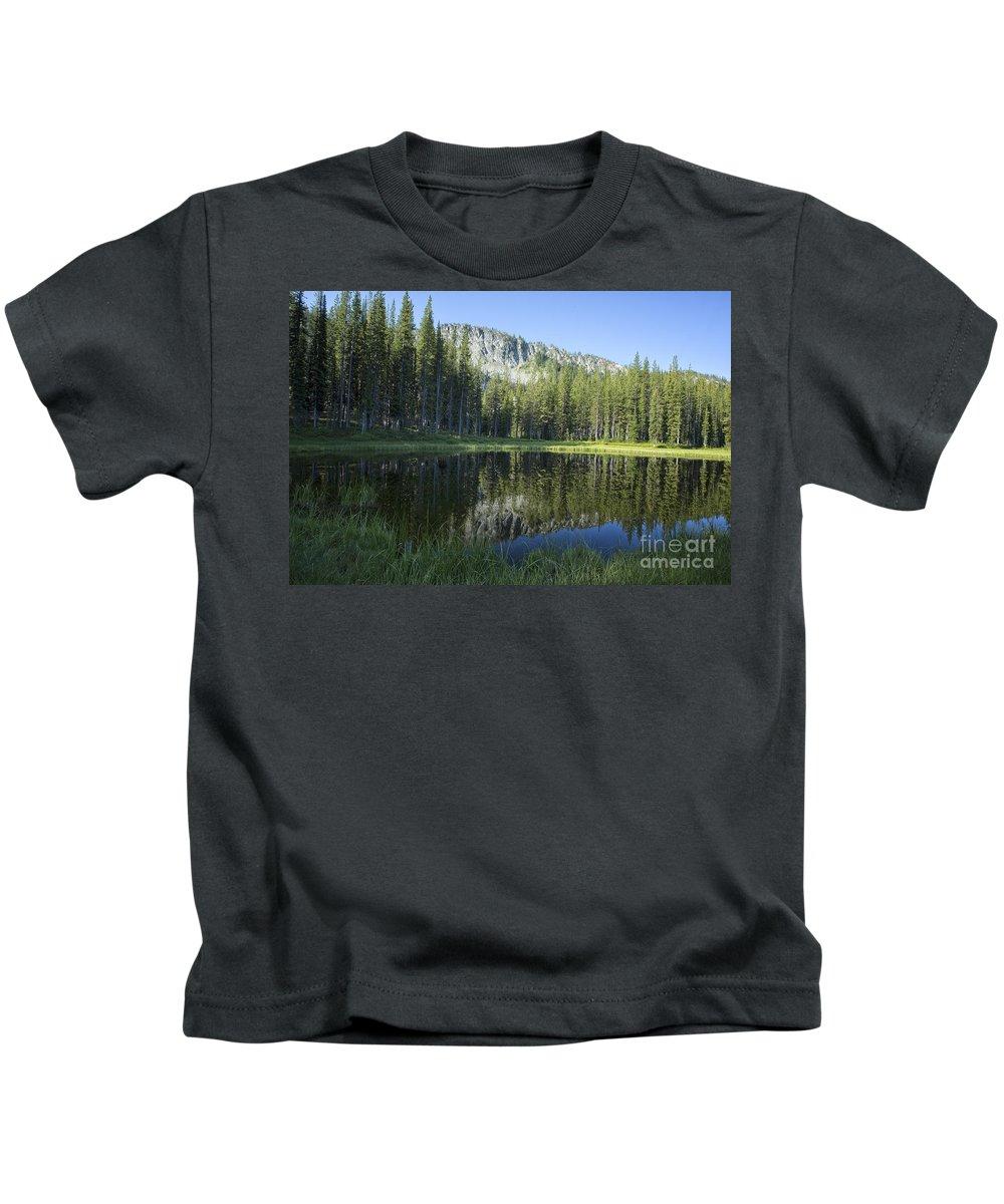 Wallowa Kids T-Shirt featuring the photograph Wallowas No. 7 by Belinda Greb