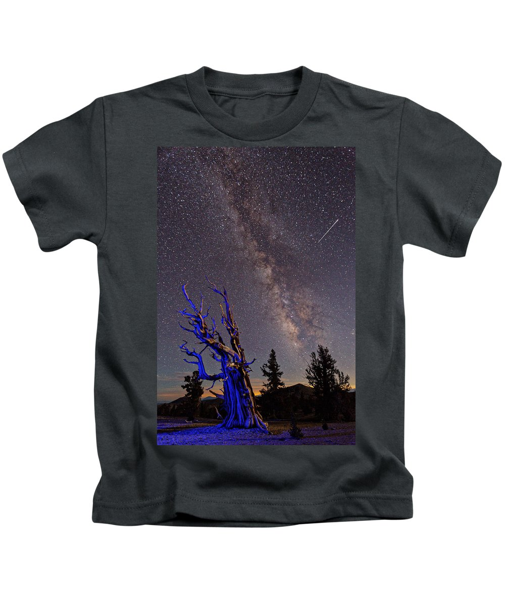 Bristlecone Pines Kids T-Shirt featuring the photograph Watchman by Pam Boling