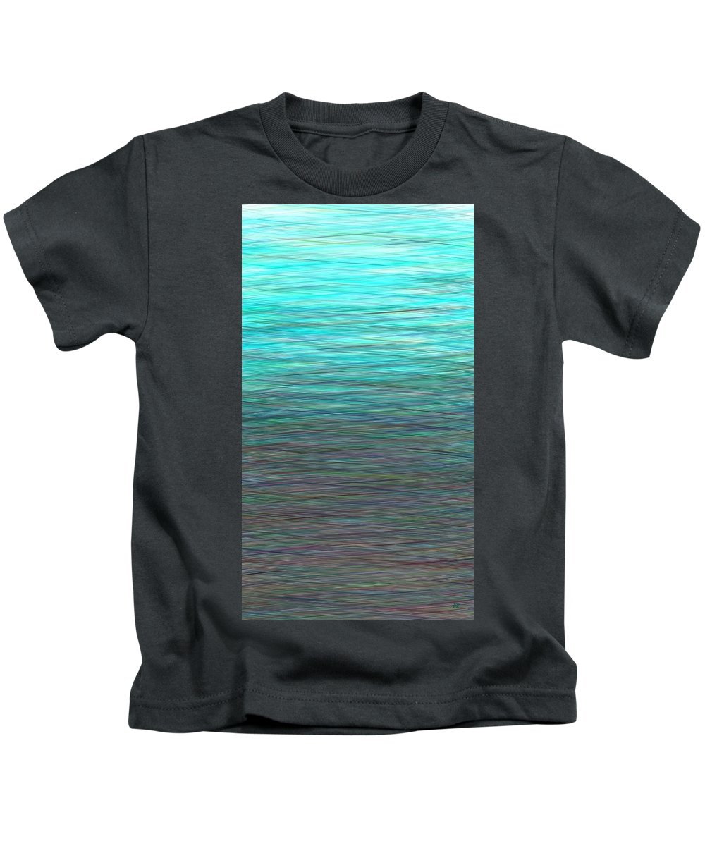 Watery Deep Kids T-Shirt featuring the digital art Watery Deep by Will Borden
