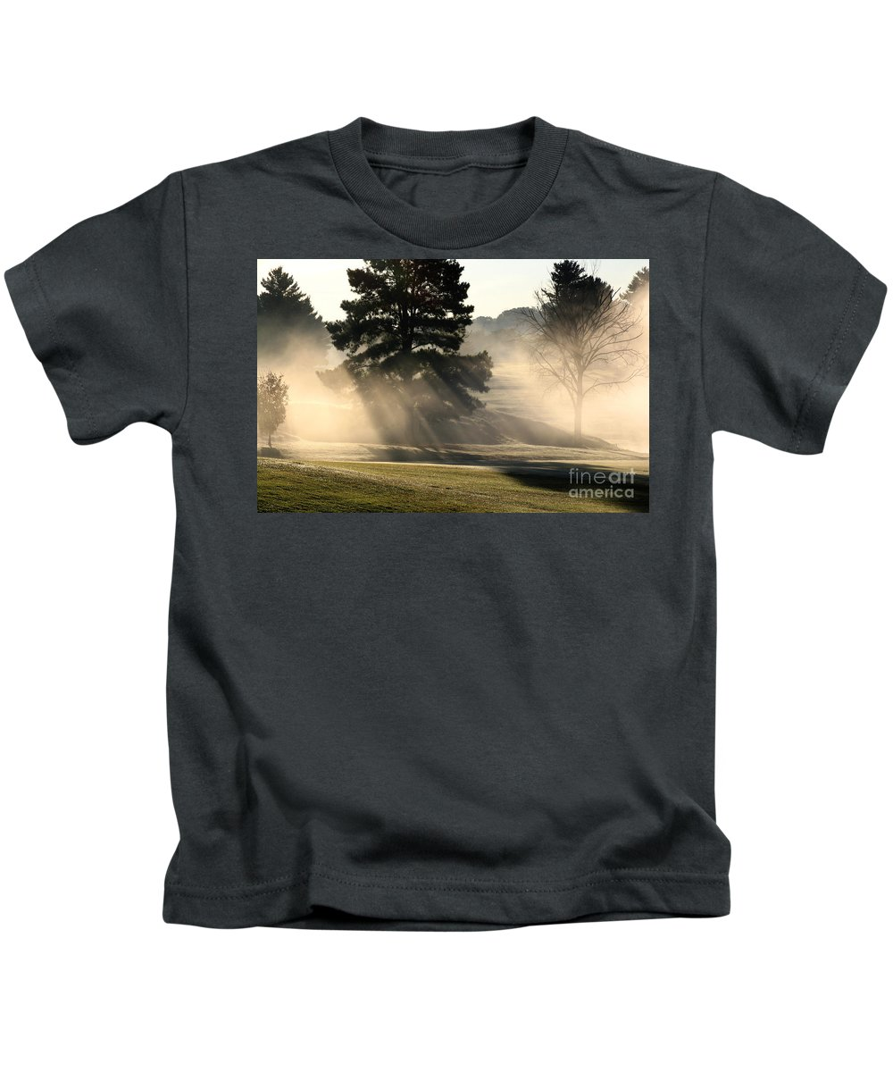 Kids T-Shirt featuring the photograph Whittle Springs Golf Course by Douglas Stucky