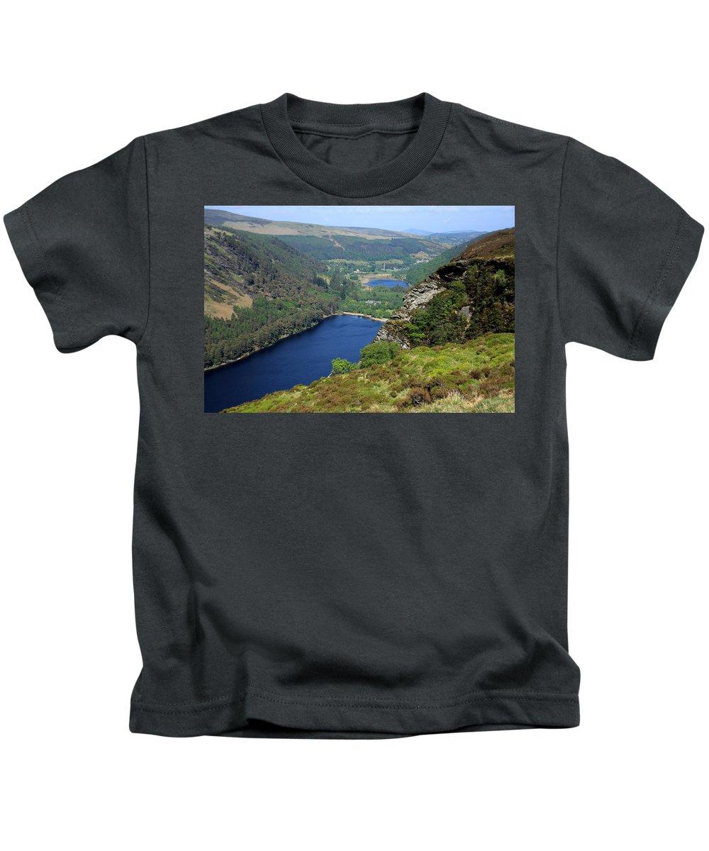 Ireland Kids T-Shirt featuring the photograph Wicklow Mountains by Aidan Moran