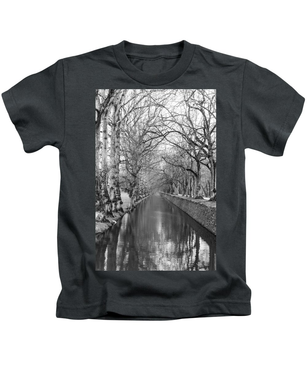 Winter Kids T-Shirt featuring the photograph Winter by Alex Lapidus