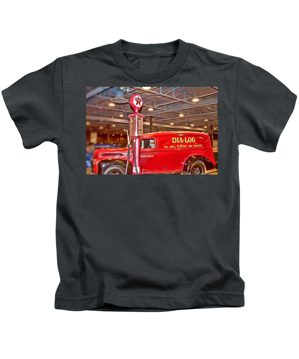 1942 Ford Ammunition Or Ambulance Truck Kids T-Shirt featuring the photograph 1942 Ford Ammunition Or Ambulance Truck by Douglas Barnard