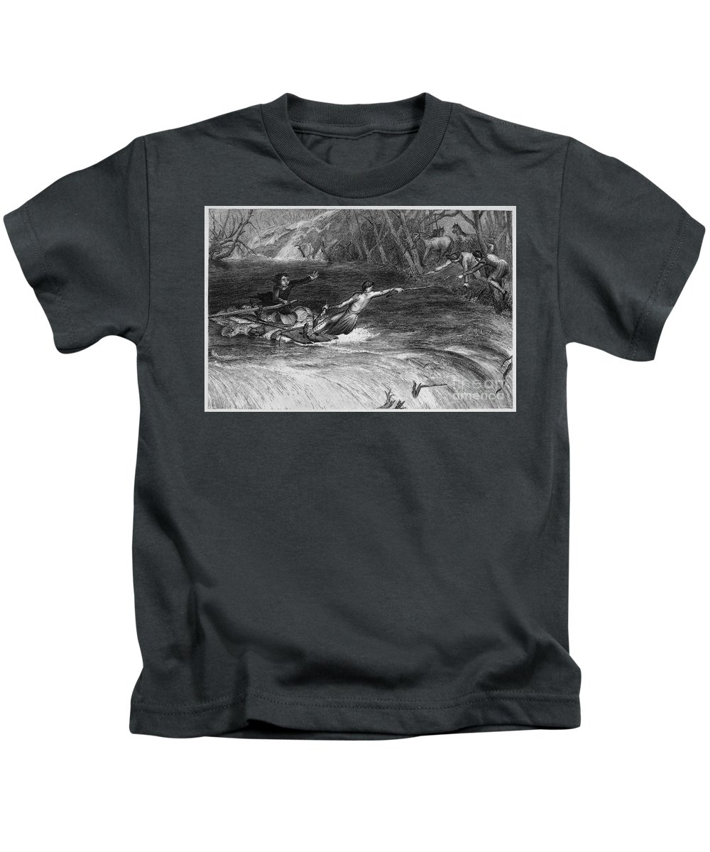 1789 Kids T-Shirt featuring the photograph Andrew Jackson (1767-1845) by Granger
