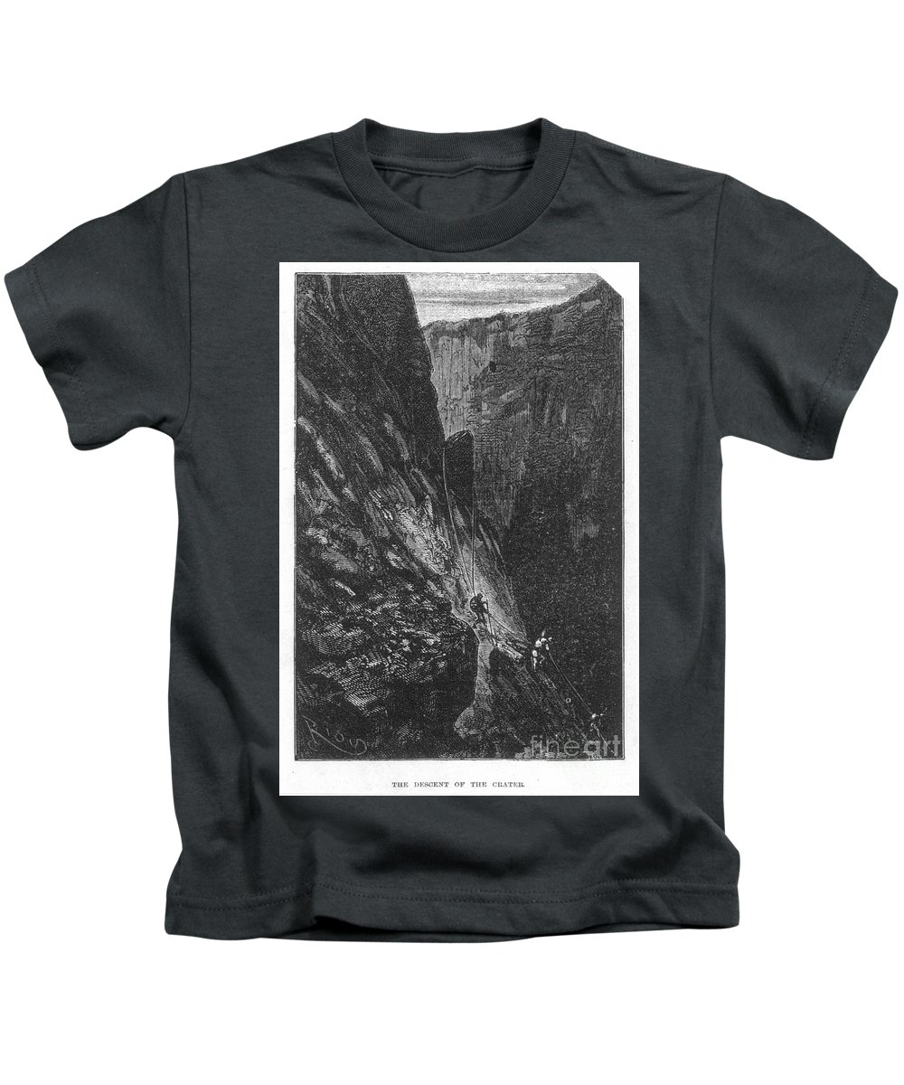 19th Century Kids T-Shirt featuring the photograph Verne: Journey by Granger