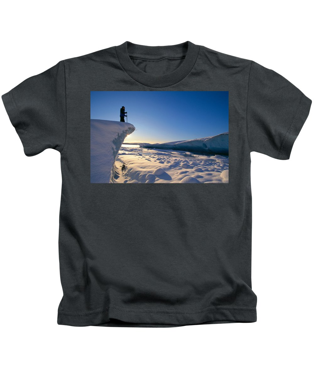 Active Kids T-Shirt featuring the photograph Alaska, Juneau by John Hyde - Printscapes