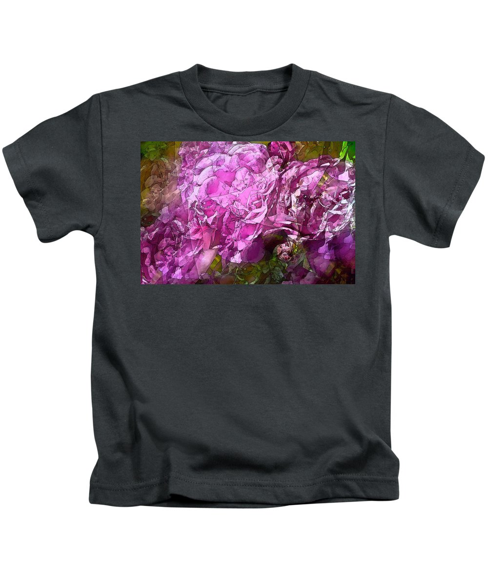Abstract Kids T-Shirt featuring the photograph Abstract 274 by Pamela Cooper