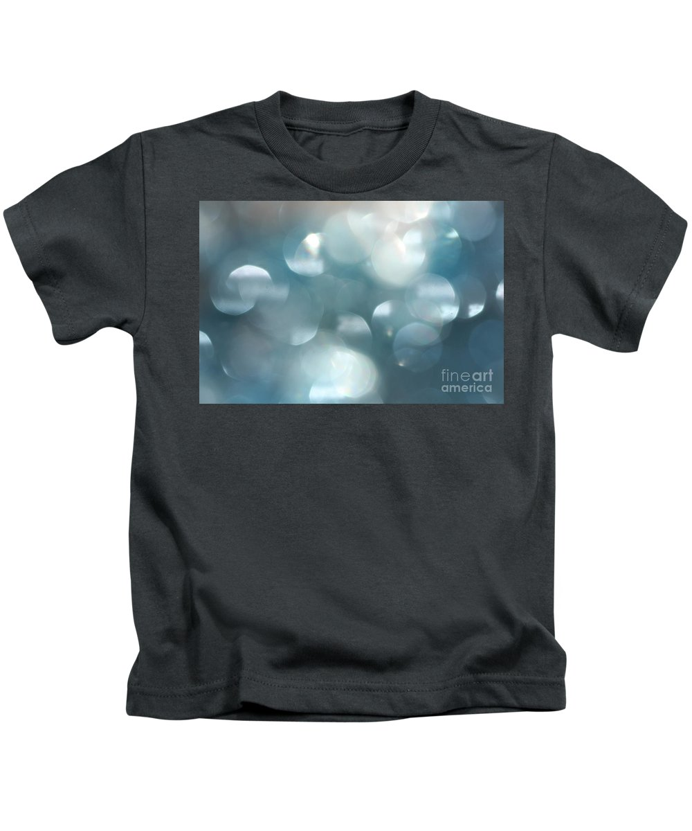 Abstract Photographs Kids T-Shirt featuring the photograph Abstract by Kim Henderson