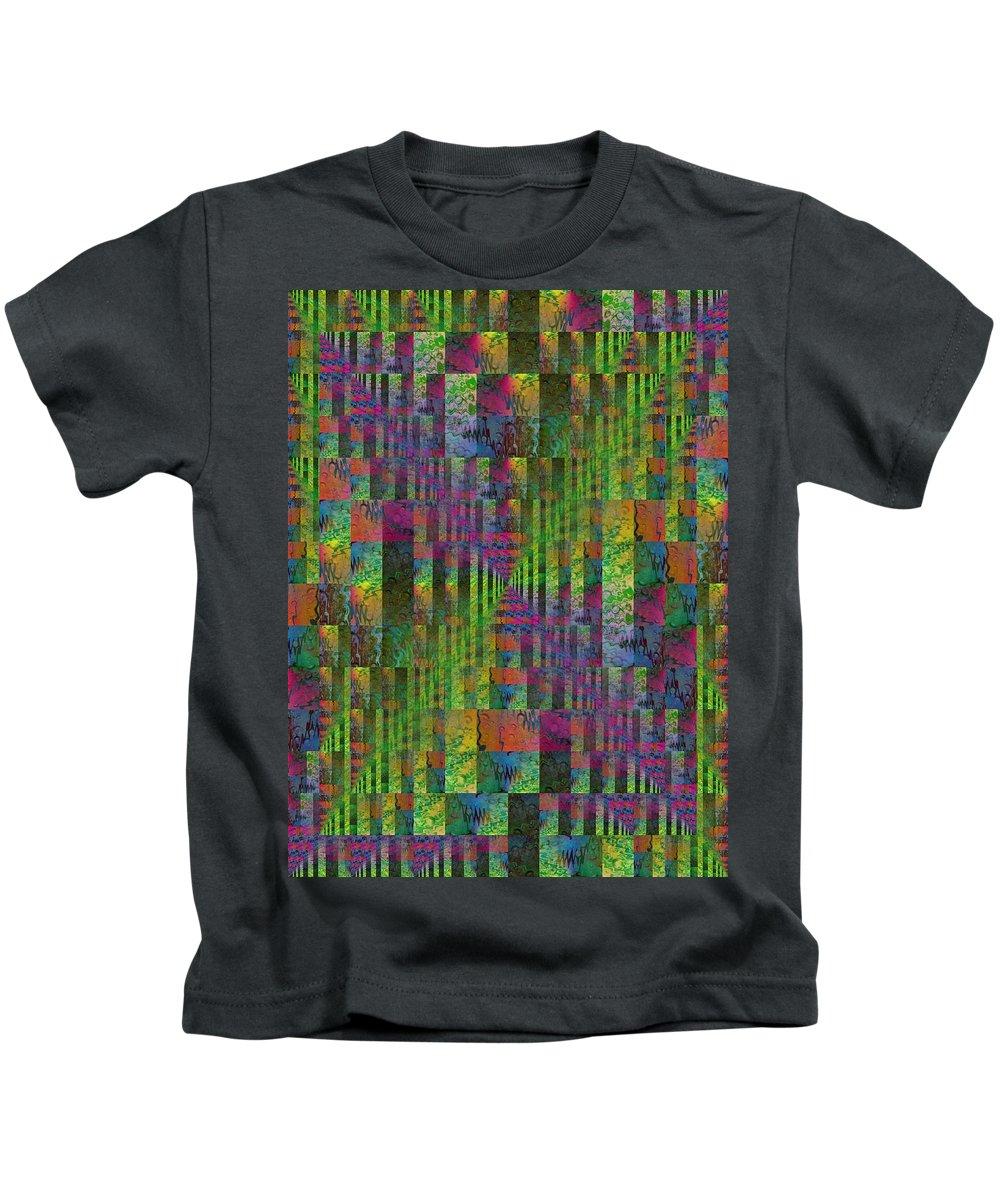 Abstract Kids T-Shirt featuring the digital art After The Rain 5 by Tim Allen