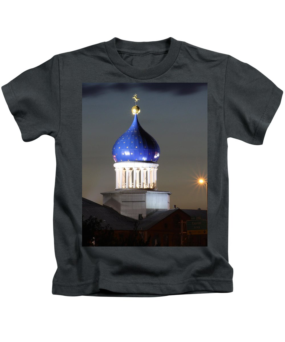 Colt Kids T-Shirt featuring the photograph American History by Frank Pietlock