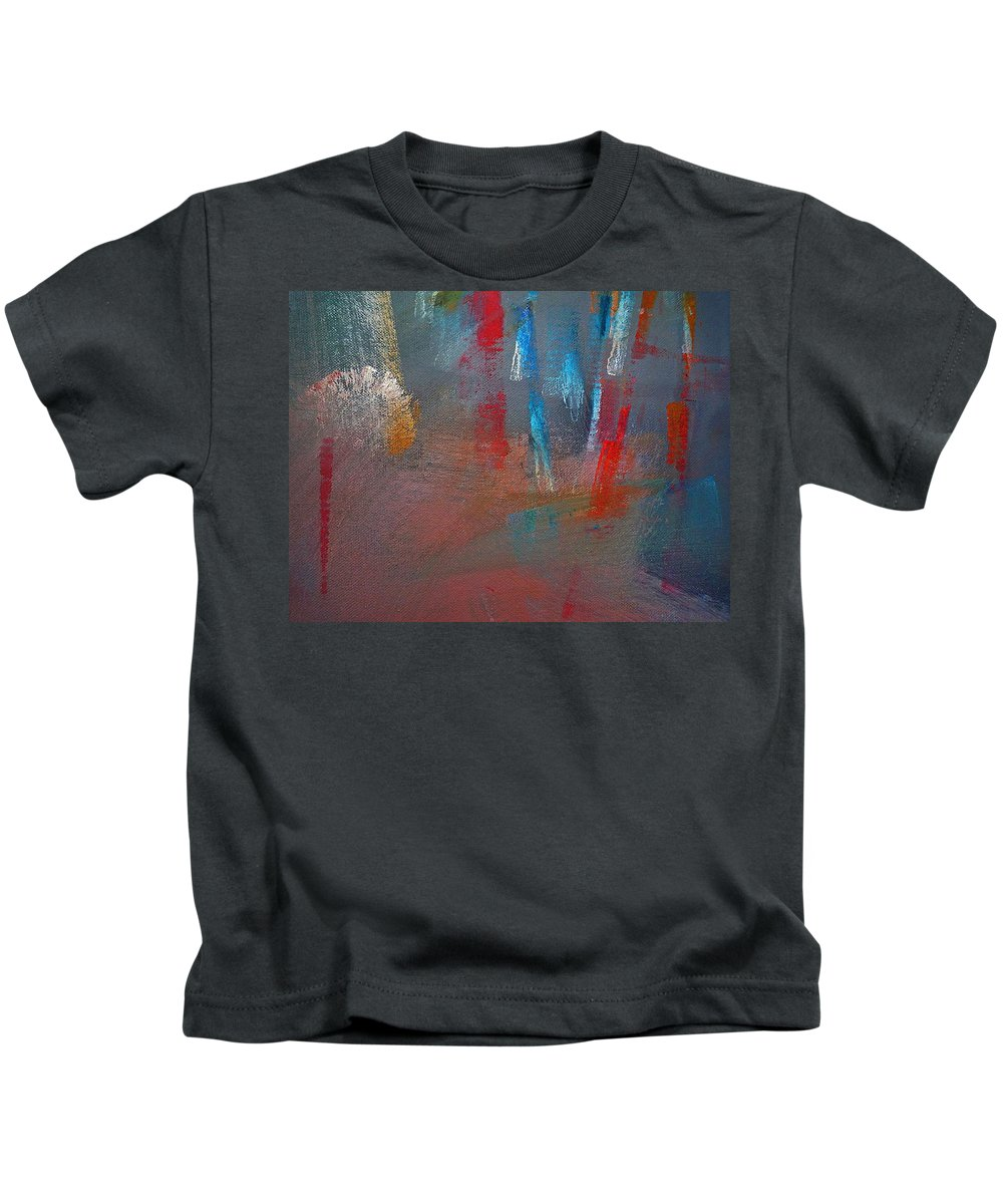 Colors Kids T-Shirt featuring the painting Ascent by Charles Stuart
