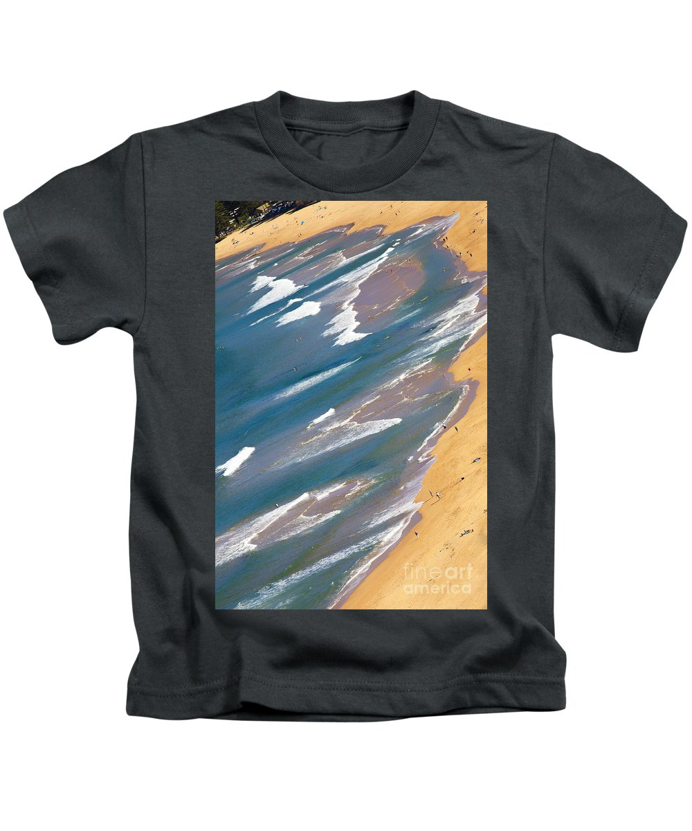 Palm Beach Kids T-Shirt featuring the photograph Autumn day at Palm Beach Sydney by Sheila Smart Fine Art Photography