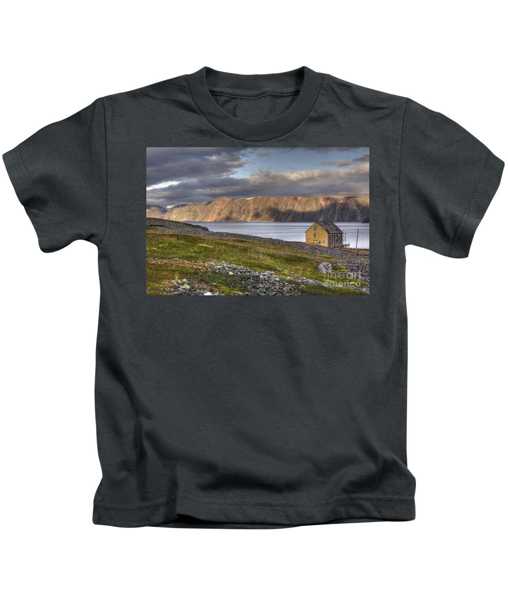 Hdr Kids T-Shirt featuring the photograph Calmness by Heiko Koehrer-Wagner