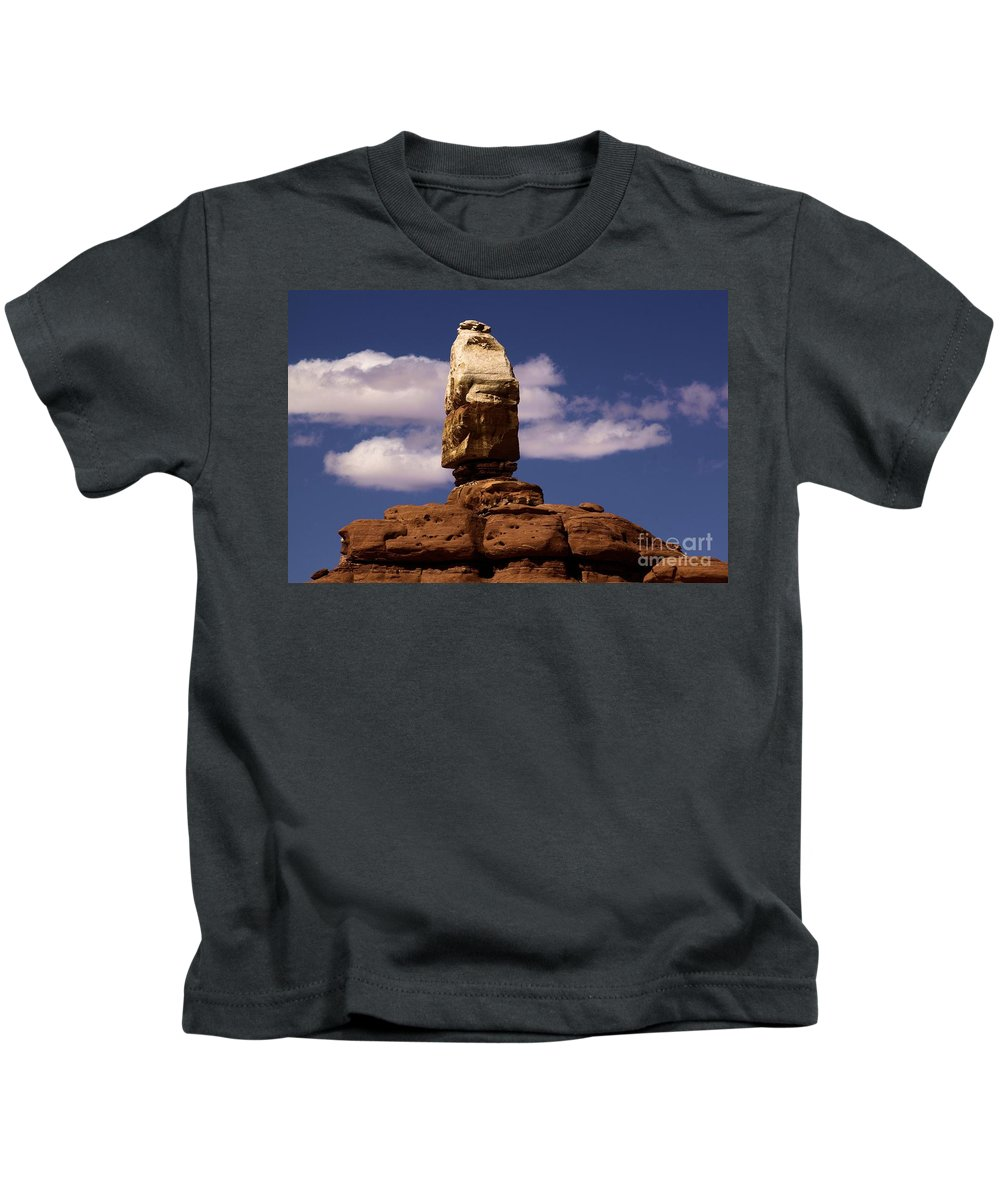 Canyonlands National Park Kids T-Shirt featuring the photograph Canyonlands Santa Claus by Adam Jewell