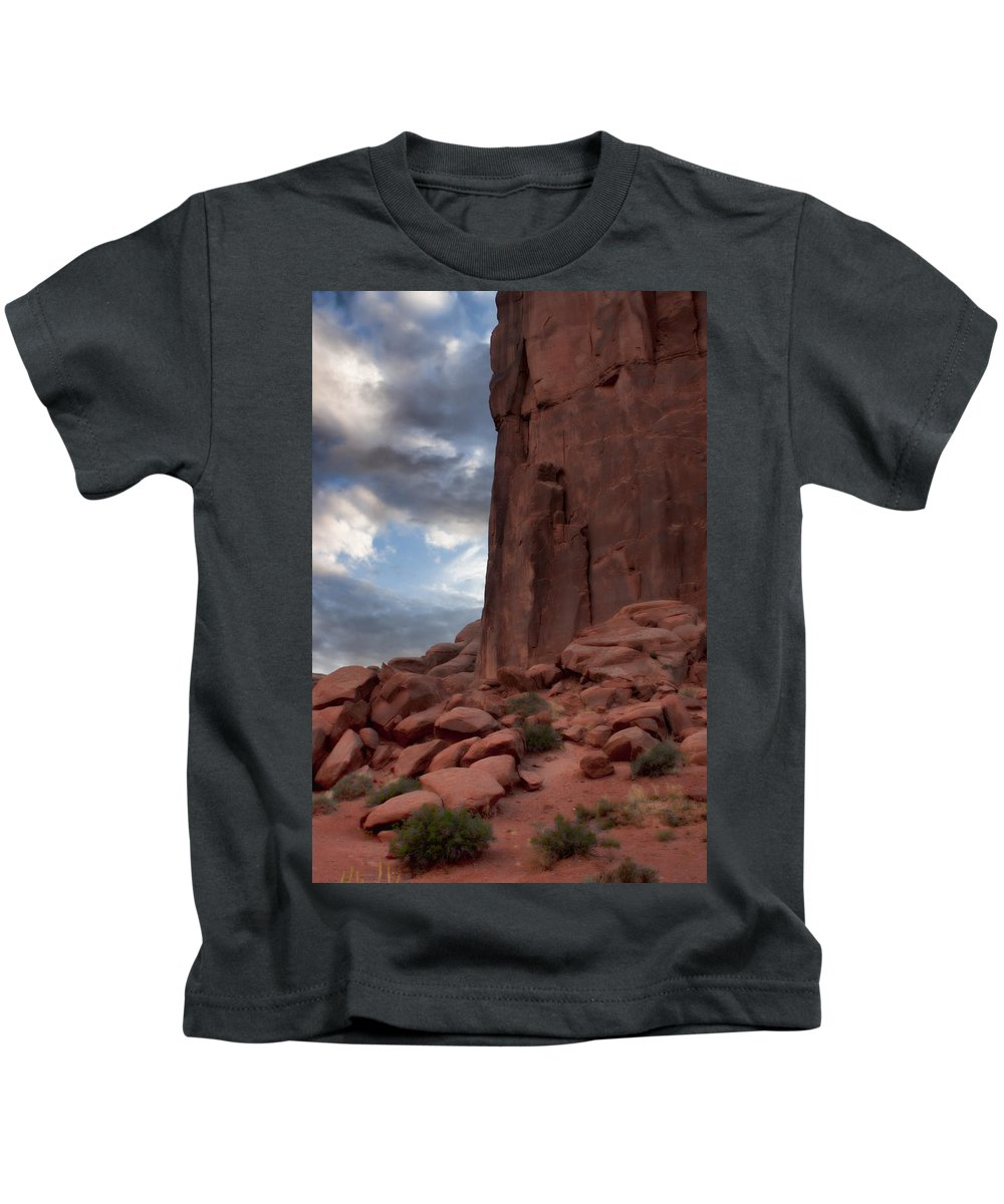 Desert Kids T-Shirt featuring the photograph Desert Dreams by Karen Ulvestad