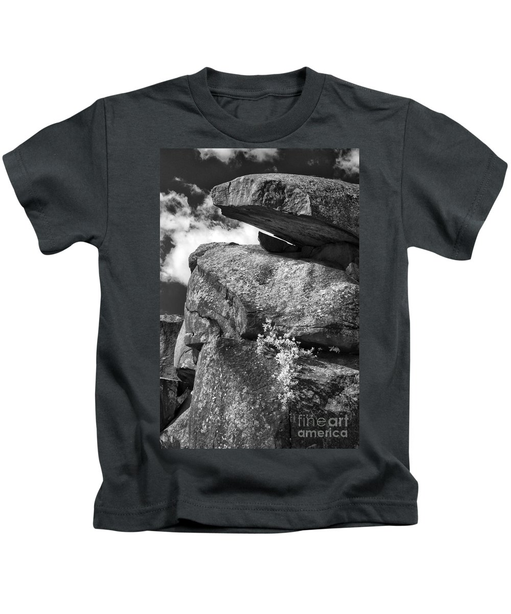 Infrared Kids T-Shirt featuring the photograph Devil's Den - 34 by Paul W Faust - Impressions of Light
