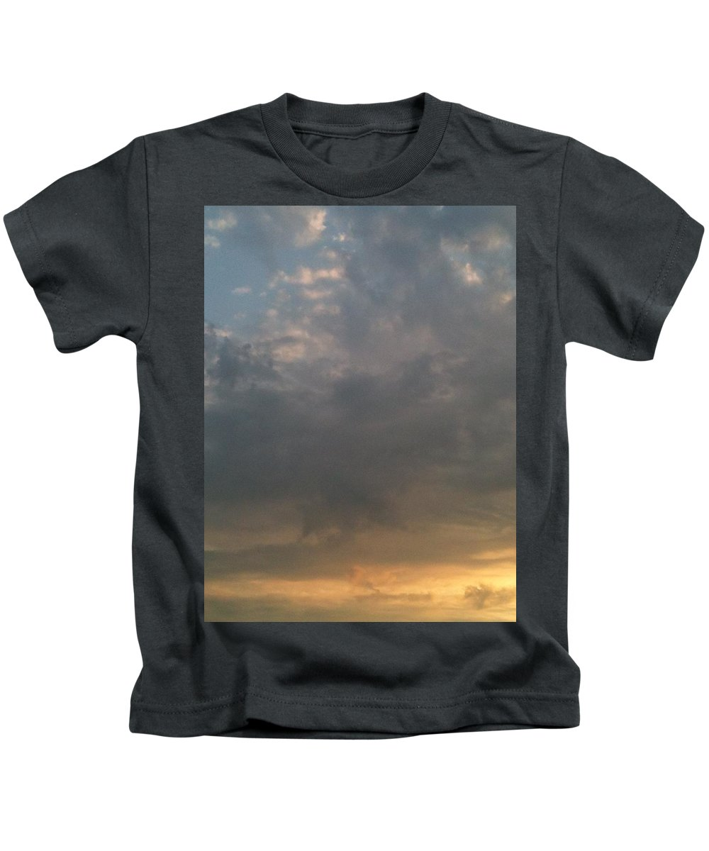 Sunset Kids T-Shirt featuring the photograph Ethereal by Valerie Nolan
