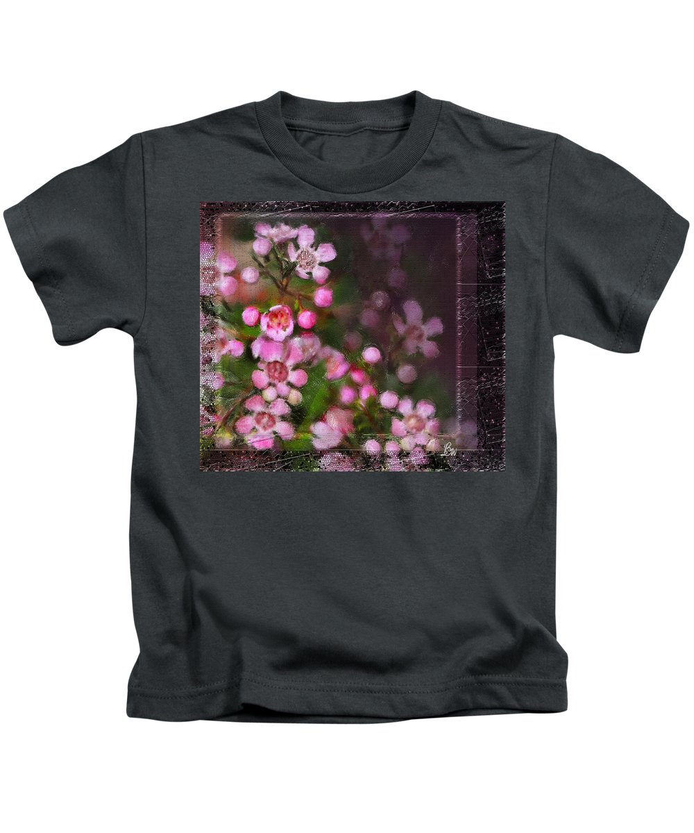 Floral Kids T-Shirt featuring the photograph Fading Beauty by Bonnie Willis