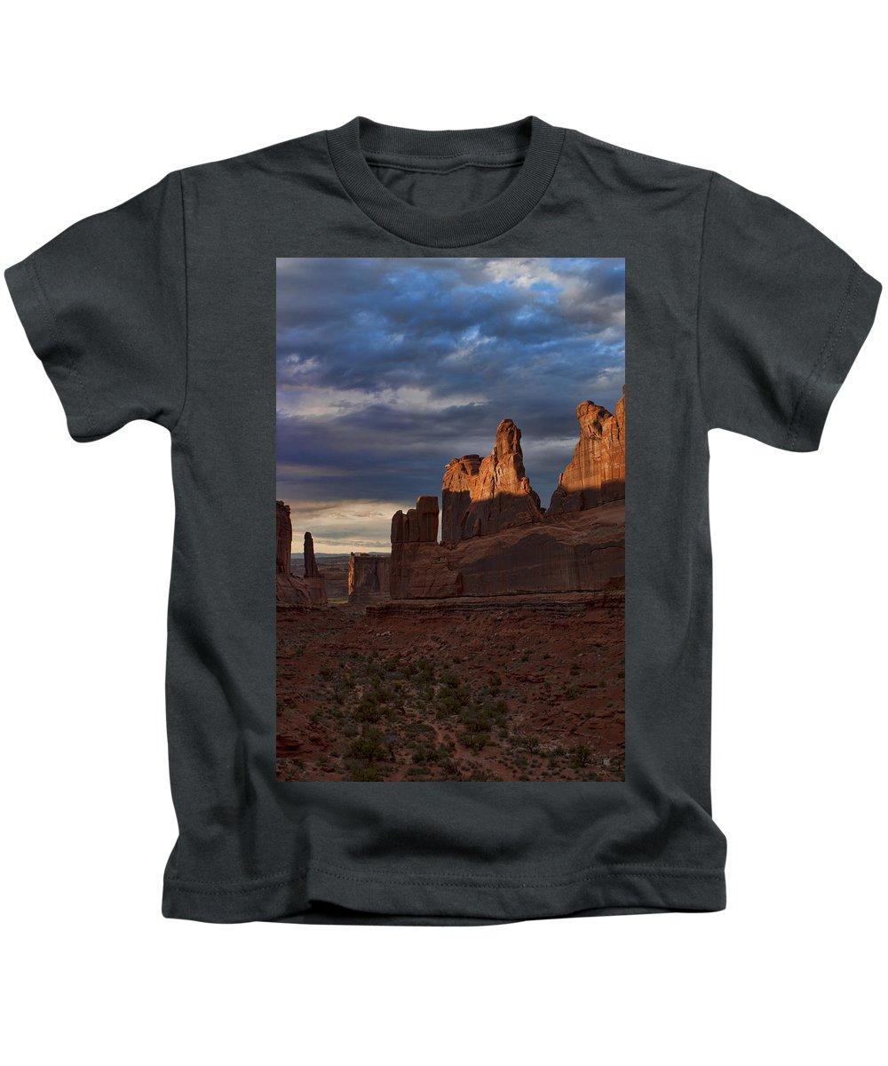 Desert Kids T-Shirt featuring the photograph Fifth Avenue by Karen Ulvestad