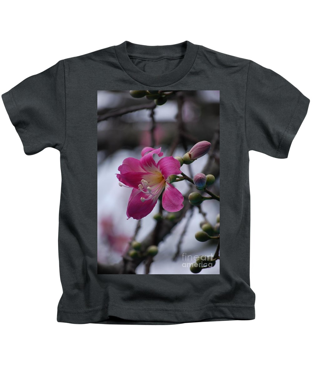 Flower Kids T-Shirt featuring the photograph Flower For A Friend by Robert Meanor