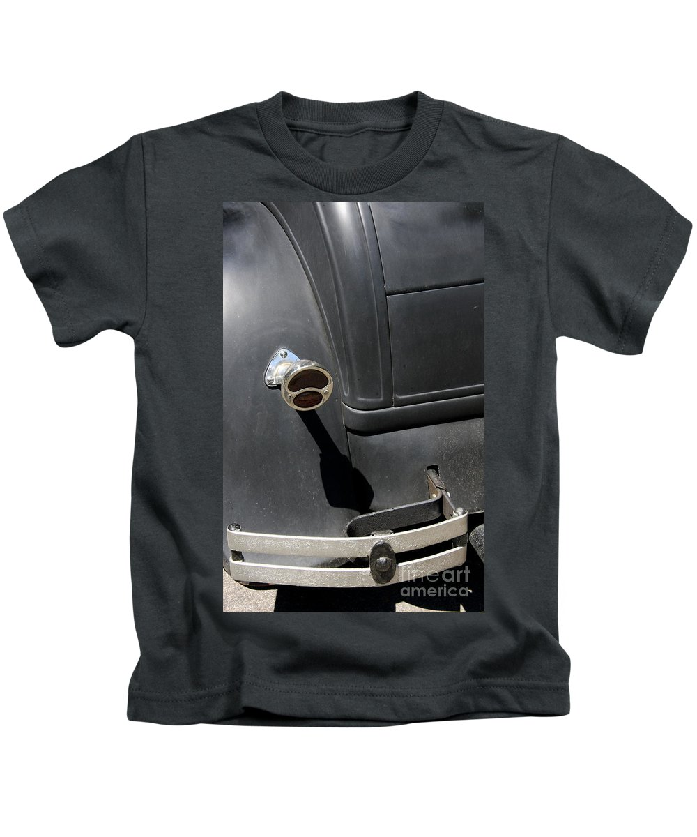 Taillight Kids T-Shirt featuring the photograph Ford A 1931 Taillight by Christiane Schulze Art And Photography