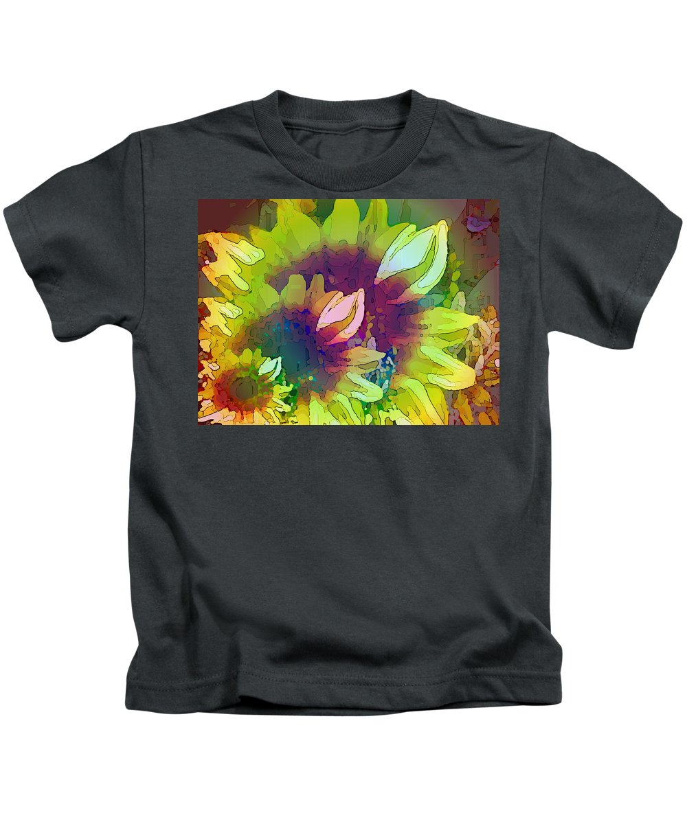 Family Kids T-Shirt featuring the digital art Generations by Tim Allen