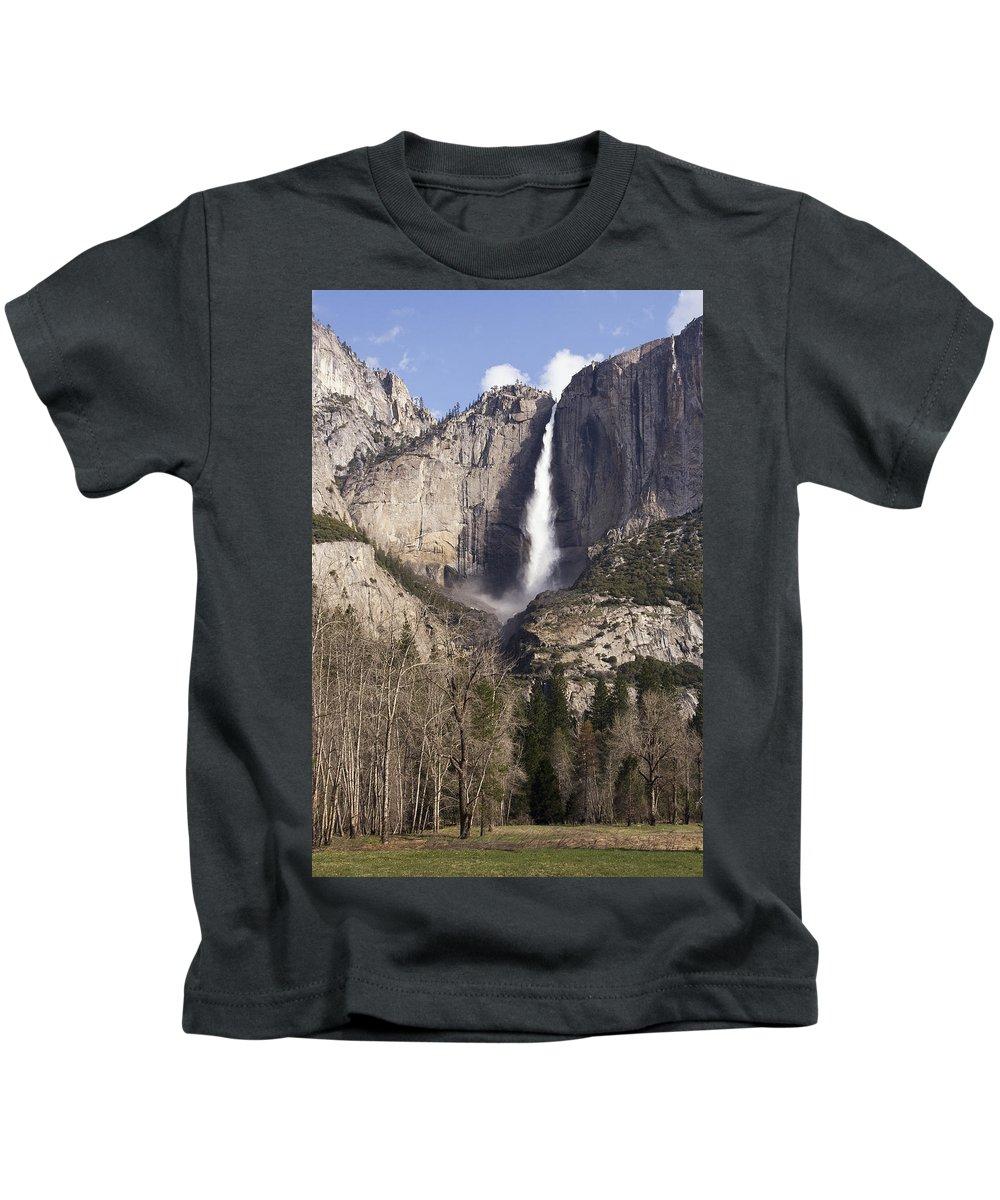 Good Morning Yosemite Kids T-Shirt featuring the photograph Good Morning Yosemite by Wes and Dotty Weber