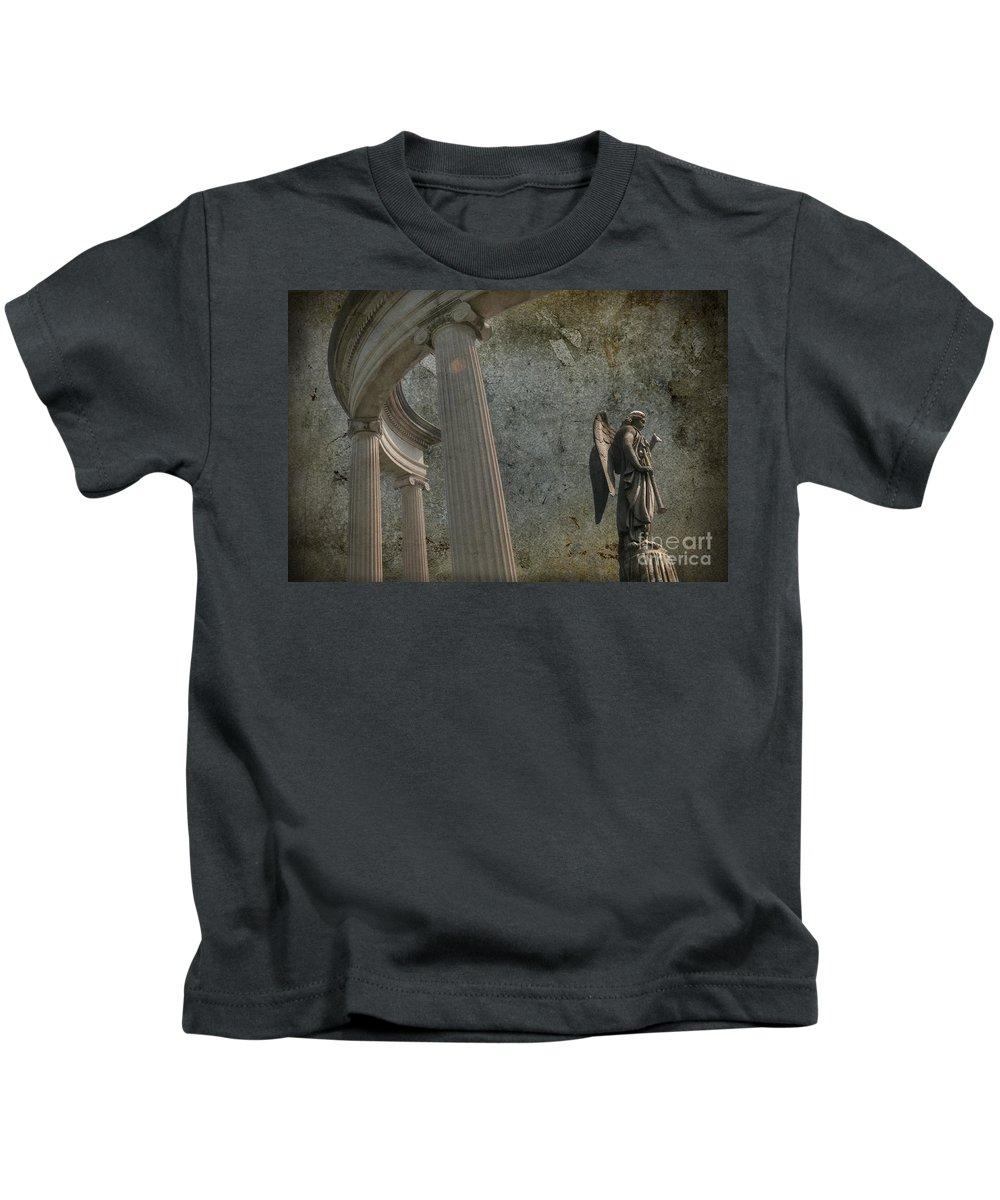 Guardian Kids T-Shirt featuring the photograph Guaridan by David Arment