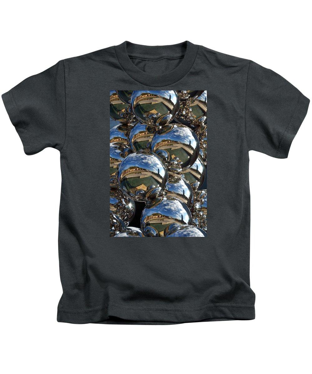 Guggenheim Kids T-Shirt featuring the photograph Guggenheim Museum Bilbao - 4 by RicardMN Photography