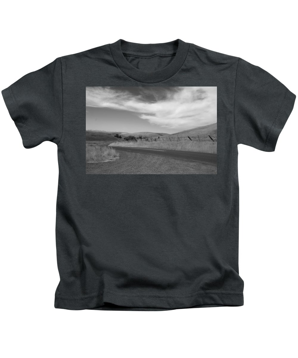Landscape Kids T-Shirt featuring the photograph Heading Inland by Kathleen Grace