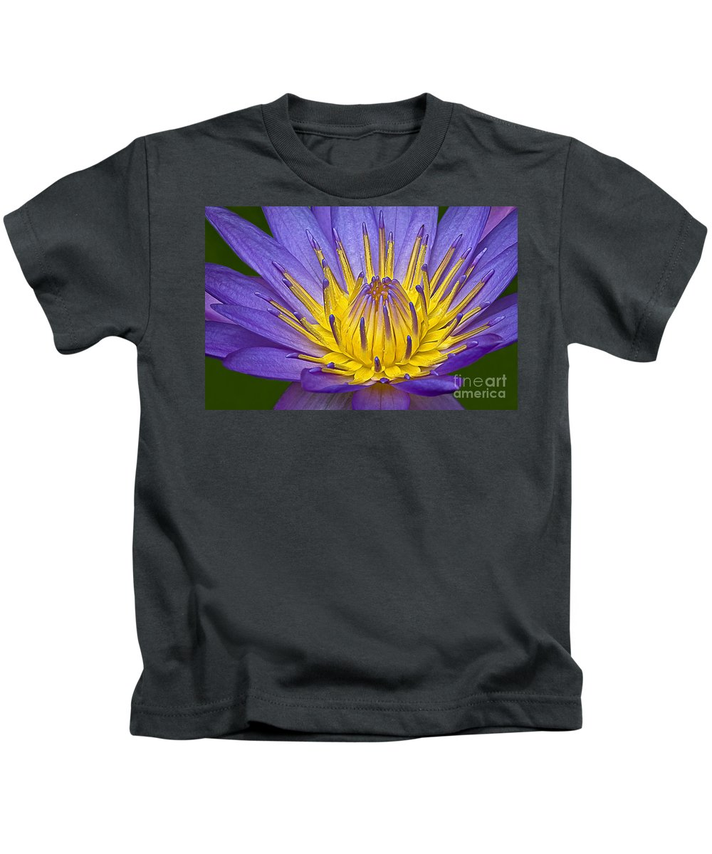 Flower Kids T-Shirt featuring the photograph Heart Of Gold by Susan Candelario