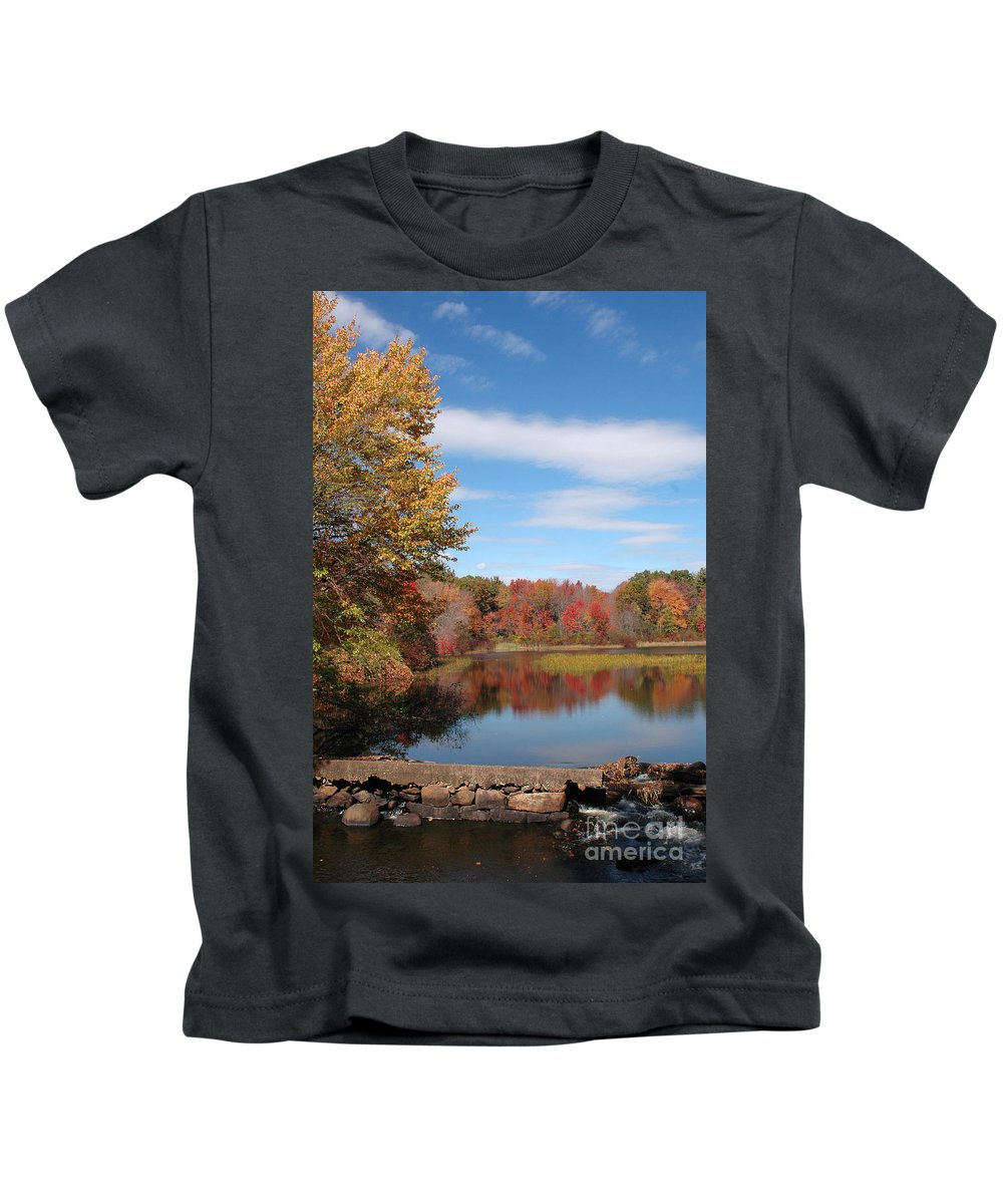 Lake Kids T-Shirt featuring the photograph Howard's Lake by Mike Nellums