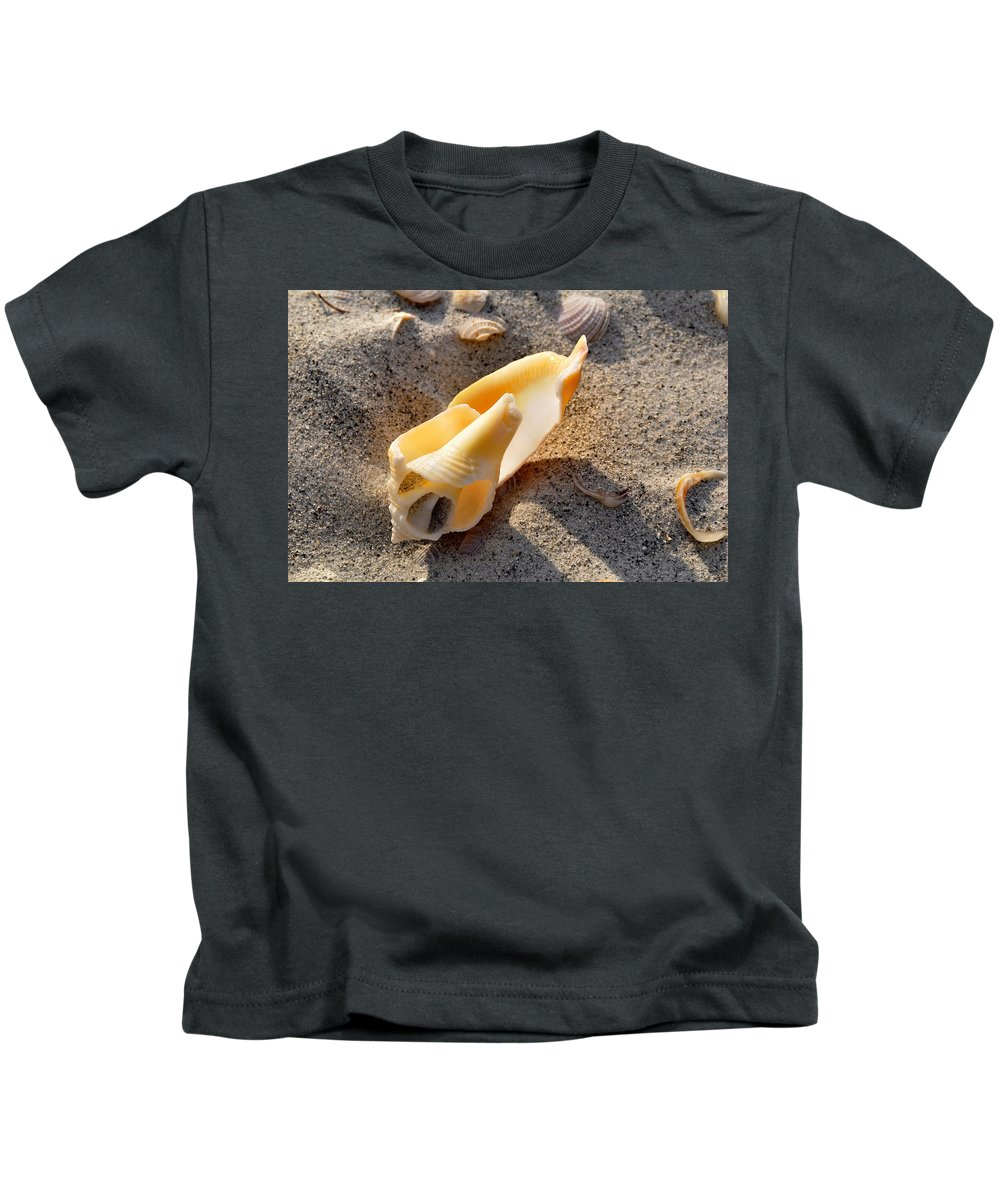 Beach Kids T-Shirt featuring the photograph Inside Beauty by David Lee Thompson