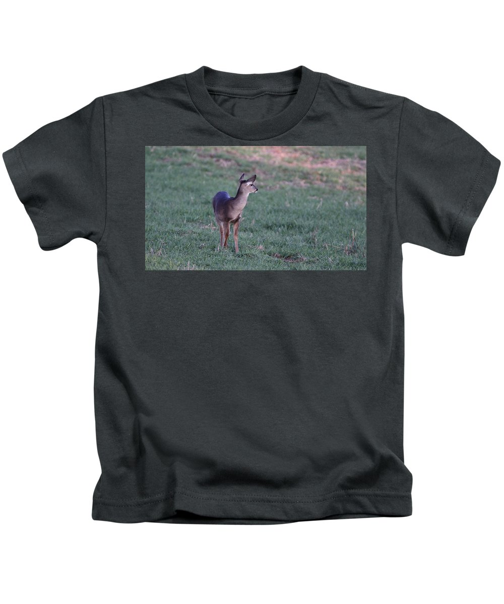 Kids T-Shirt featuring the photograph Just A Little Baby by Travis Truelove