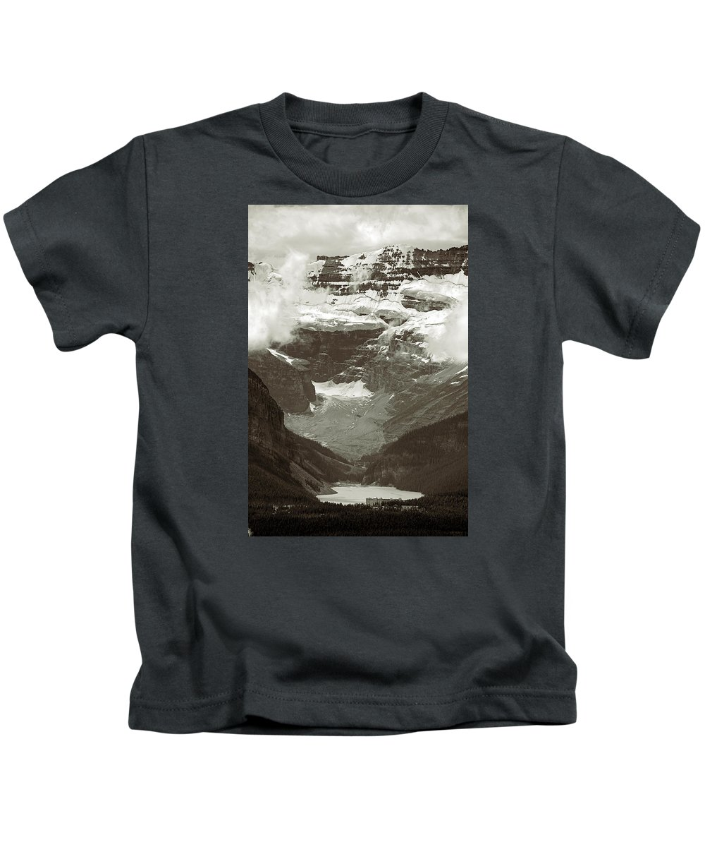 Lake Louise Kids T-Shirt featuring the photograph Lake Louise by RicardMN Photography