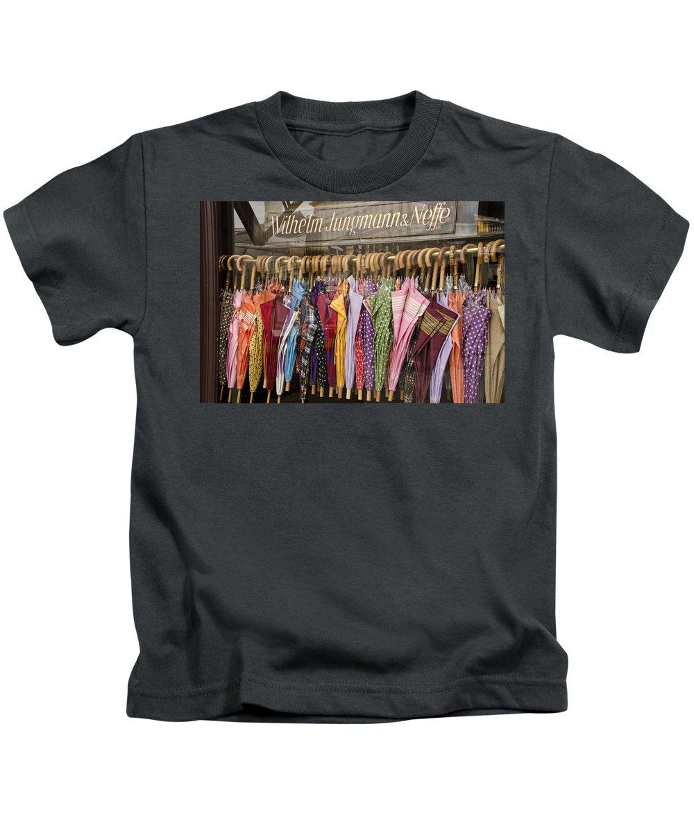 Rain Kids T-Shirt featuring the photograph Looks Like Rain by Jon Berghoff