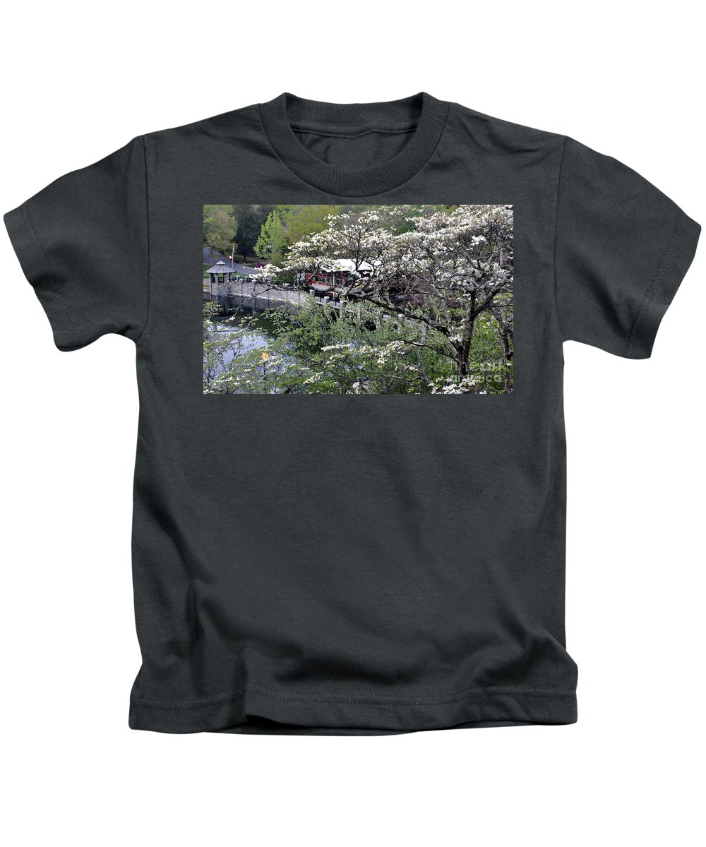 Landscape Kids T-Shirt featuring the photograph Montreat In Spring by Lydia Holly