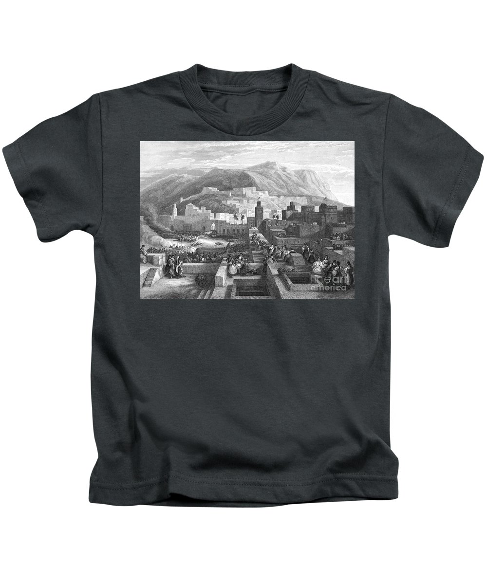 19th Century Kids T-Shirt featuring the photograph Morocco: Tetouan by Granger
