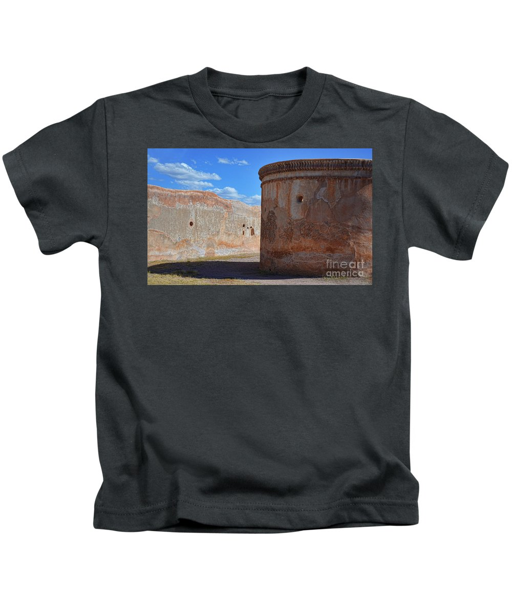 Fine Art Kids T-Shirt featuring the photograph Mortuary Chapel by Donna Greene