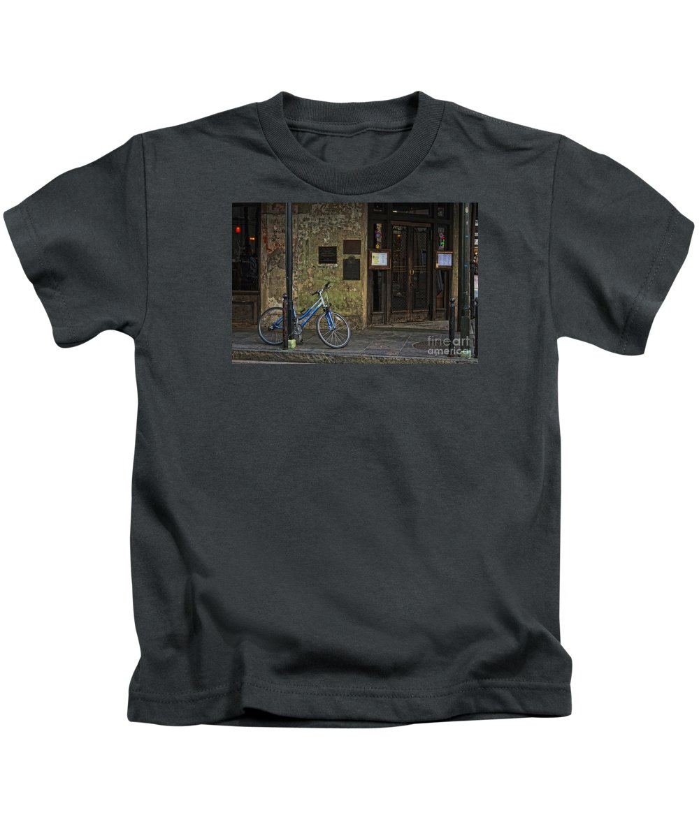 Napoleon Kids T-Shirt featuring the photograph Napoleon House New Orleans by Kathleen K Parker