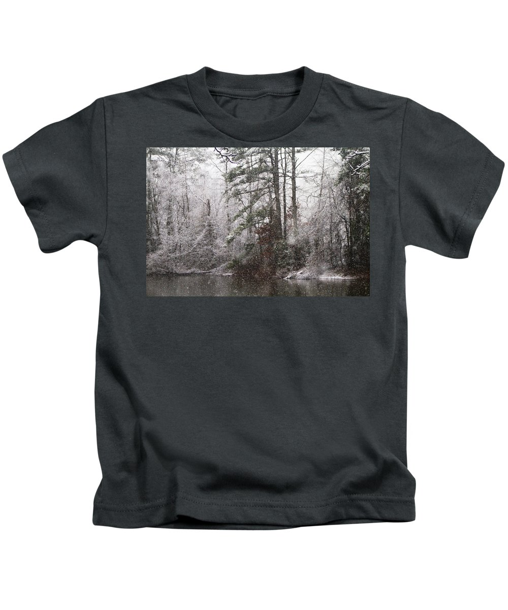 Christmas Kids T-Shirt featuring the photograph One Alabama Christmas by Kathy Clark